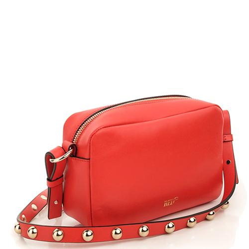3c244420733c ☆ Красная сумка Red Valentino Loveblade с принтом-бабочкой купить в ...