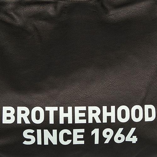Большая сумка Dsquared2 с фирменным принтом, фото