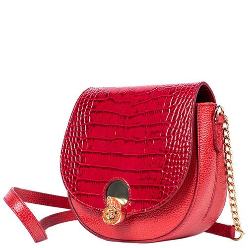 Красная сумка Gilda Tonelli с животным принтом, фото