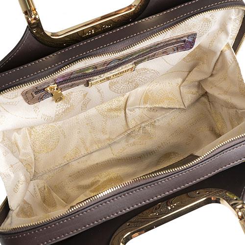 Сумка-портфель Gilda Tonelli с цветочным принтом, фото