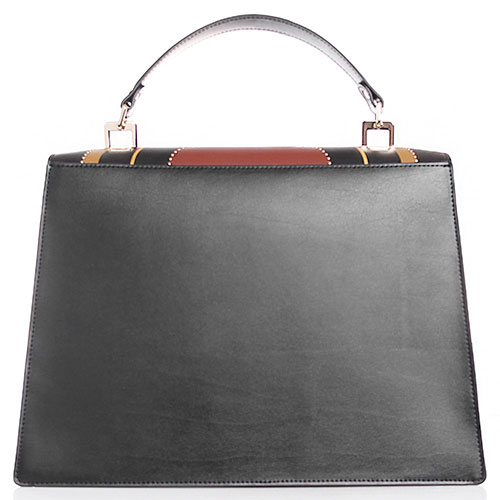 Сумка трапециевидной формы Tosca Blu Casino Royale черного цвета с принтом, фото