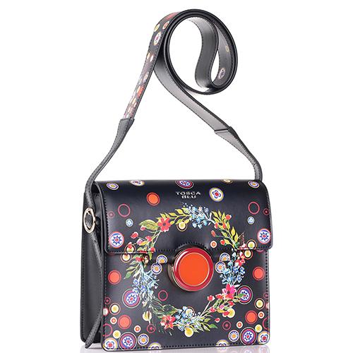 Маленькая сумка Tosca Blu с цветочным принтом, фото
