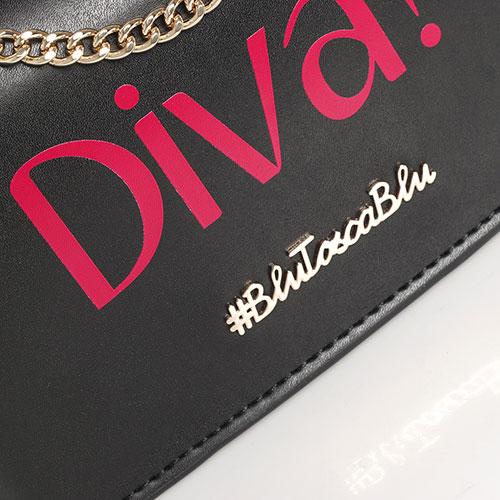 Клатч Tosca Blu Diva с декором-заклепками, фото