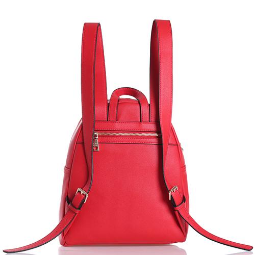 Рюкзак Love Moschino красного цвета со съемным брелком, фото