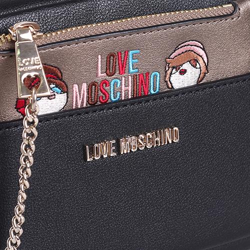 Камера-бег Love Moschino со съемной косметичкой, фото