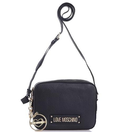Маленькая сумка Love Moschino со съемным брелком, фото