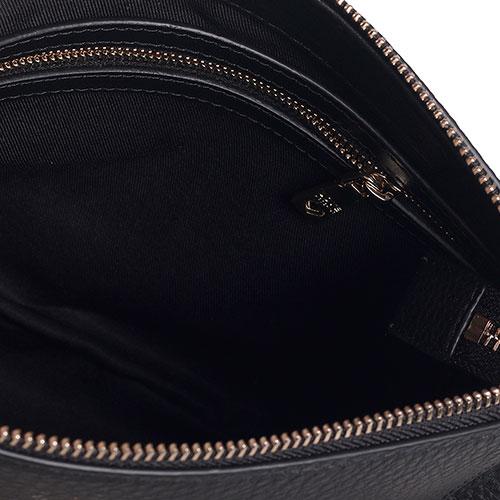 Черная сумка Love Moschino с декором-цепочками, фото