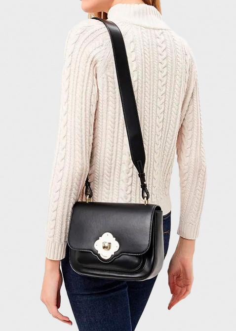 Маленькая сумка Emporio Armani черного цвета, фото