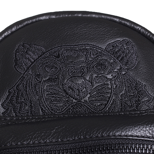 Рюкзак Kenzo черного цвета с вышивкой, фото