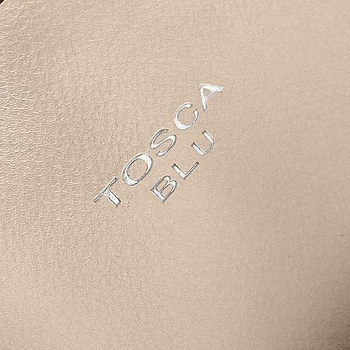 Сумка Tosca Blu Tessa золотистого цвета со съемным отделением, фото
