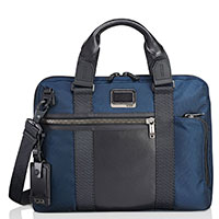 Сумка-портфель Tumi Alpha Bravo Charleston синяя, фото