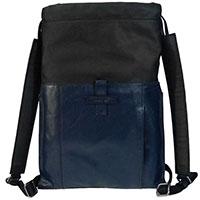 Рюкзак-карман для ноутбука The Bridge Cartelle синий с черным, фото