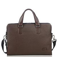 Сумка-портфель Tumi Harrison Seneca коричневого цвета, фото