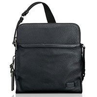 Черная сумка Tumi Harrison Stratton Crossbody на молнии, фото