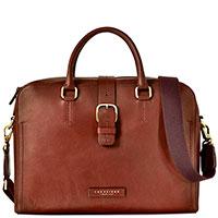 Сумка-портфель для ноутбука The Bridge Fitzroy коричневого цвета, фото