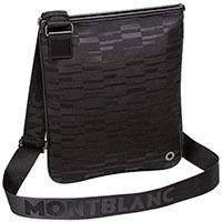 Сумка-конверт Montblanc Black Mystery из текстиля и кожи, фото