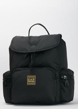 Мужской рюкзак EA7 Emporio Armani черного цвета, фото