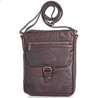 Мужская сумка Spikes&Sparrow из коричневой кожи, фото