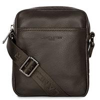 Темно-коричневая сумка Lancaster Soft Vintage Homme, фото
