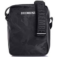 Черная сумка Bikkembergs прямоугольной формы, фото