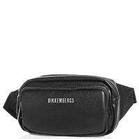 Мужская поясная сумка Bikkembergs черного цвета, фото