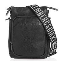 Плечевая сумка Bikkembergs в черном цвете, фото