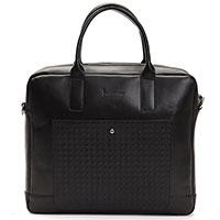 Сумка-портфель Billionaire черного цвета, фото
