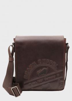 Коричневая сумка Braun Bueffel Parma с клапаном, фото