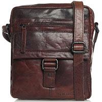 Мужская сумка Spikes&Sparrow Authentic коричневого цвета, фото