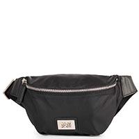 Поясная сумка Cavalli Class Thunder в черном цвете, фото