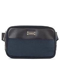 Поясная сумка Baldinini Chris синяя с черными вставками, фото