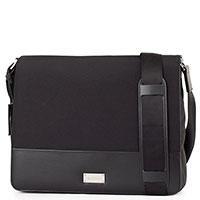Мужская сумка Baldinini Chris в черном цвете, фото