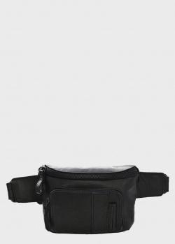 Поясная сумка Spikes&Sparrow черного цвета, фото