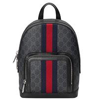 Рюкзак Gucci Supreme из кожи и текстиля, фото