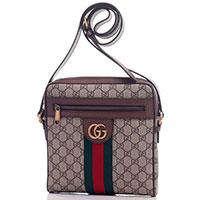 Сумка мессенджер Gucci Ophidia среднего размера, фото