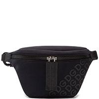 Поясная сумка Dolce&Gabbana Logo Millennials черного цвета, фото