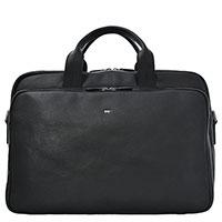 Черная сумка-портфель Braun Bueffel Parma с отделением для ноутбука, фото
