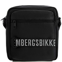 Черная сумка Bikkembergs на молнии, фото