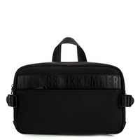 Поясная сумка Bikkembergs черного цвета, фото