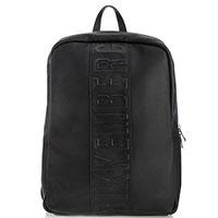 кожаный рюкзак Bikkembergs черного цвета, фото