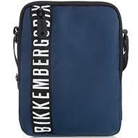 Мужская сумка Bikkembergs синего цвета, фото