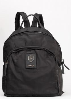 Черный рюкзак Cesare Paciotti с логотипом, фото