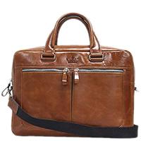 Мужская сумка Amo Accessori Valentino коньячного цвета, фото