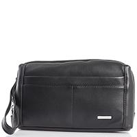 Черная сумка-клатч Amo Accessori со съемным кистевым ремнем, фото
