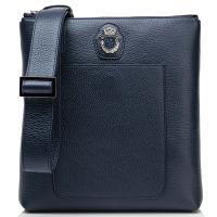 Синяя сумка Billionaire с широким ремнем, фото