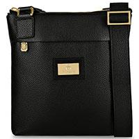 Черная сумка Billionaire из зернистой кожи, фото