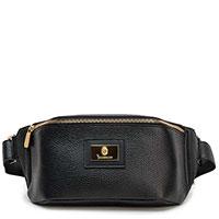 Черная поясная сумка Billionaire с логотипом, фото