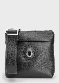 Мужская сумка Billionaire с фирменным декором, фото