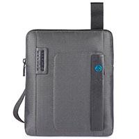 Мужская сумка Piquadro Pulse серого цвета, фото
