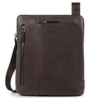 Вертикальная сумка Piquadro Bk Square коричневого цвета , фото